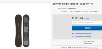 Burton Super Hero