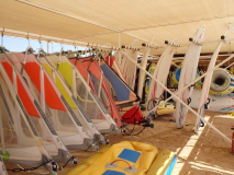 Makadi Bay Windsurfing in Ägypten
