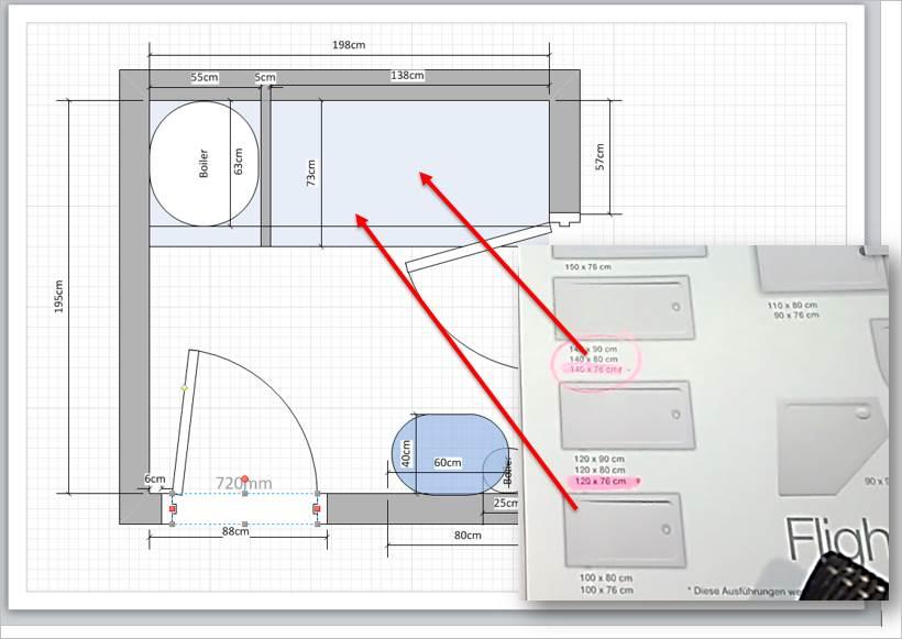 jetzt passt die duschwanne nicht so eine planung rue25 blog. Black Bedroom Furniture Sets. Home Design Ideas