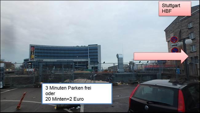 Parken Am Bahnhof Stuttgart