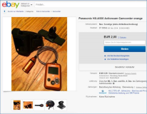 2014-11-30 Panasonic HX-A500 Actioncam Camcorder orange  EUR 256,00 [ 22 Gebote ]