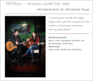 06.12.2014 - Pierrolo Virtuoso World-Folk Jazz in der Seegras-Spinnerei