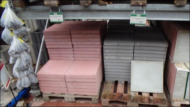 Betonplatten Terrassenplatten Zu Tiefstpreisen Rue Blog - Betonplatten 40x40x5 grau