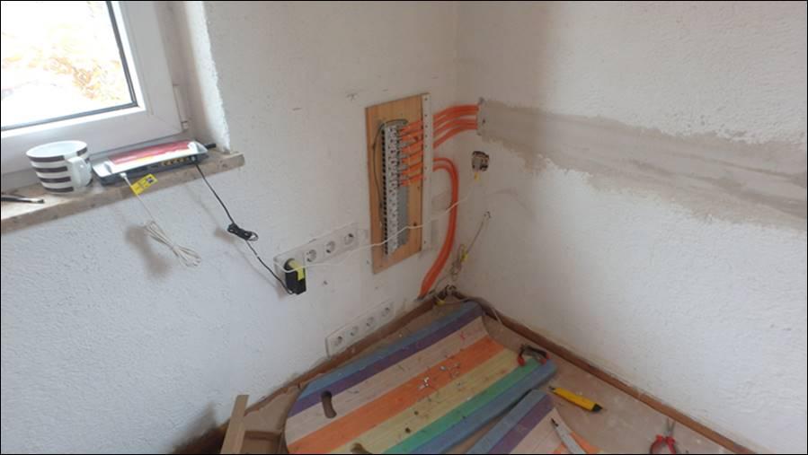 lan netzwerk abschluss verlegung des gigabit lan netzwerkes rue25 notizen. Black Bedroom Furniture Sets. Home Design Ideas