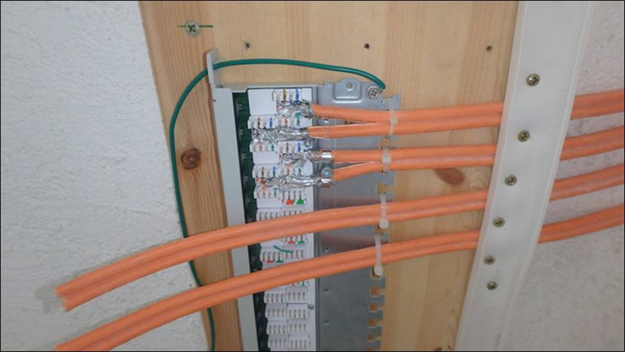 lan anschluss patchpanel switch router dsl anschluss rue25 notizen. Black Bedroom Furniture Sets. Home Design Ideas