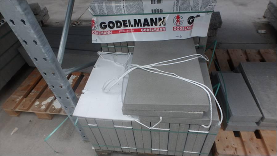 Gehwegplatten Aus Beton Standard X Oder X Rue Notizen - Gehwegplatten 40x40 günstig