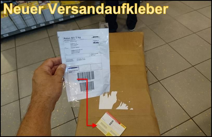Dhl Paket Falsch Frankiert