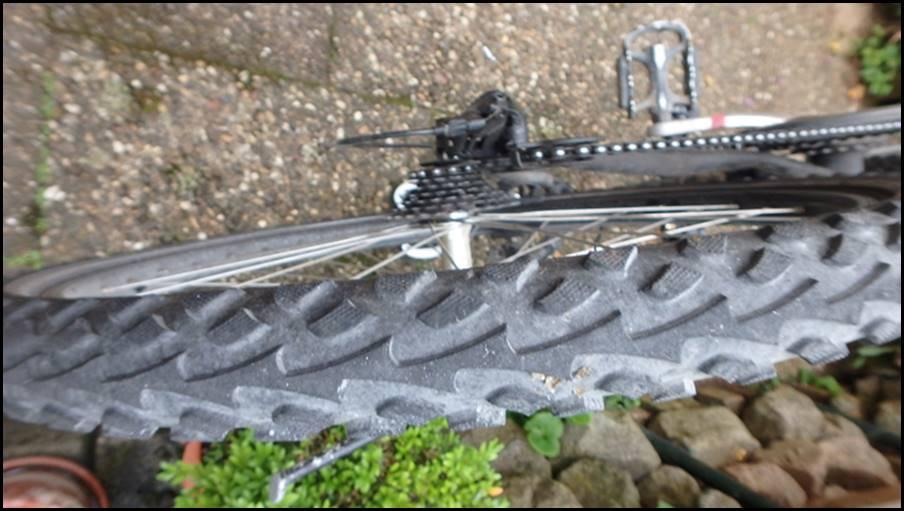 Fahrrad neuen mantel aufziehen