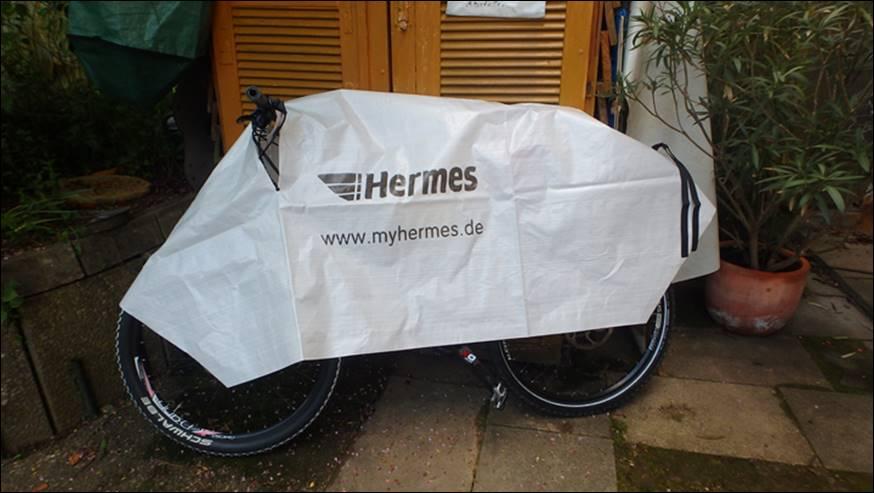 Fahrradversand Hermes