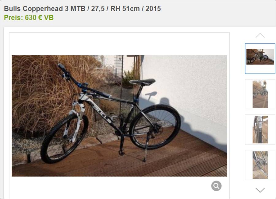 Suche Fahrrad MTB 29 Zoll Großer Rahmen, gebraucht @ Rue25 Notizen