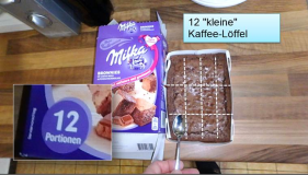Milkas 12-Mini Brownies als 12 Portionen