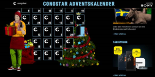 Adventskalender von Congstar