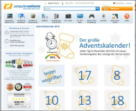 Adventskalender von ComputerUniverse