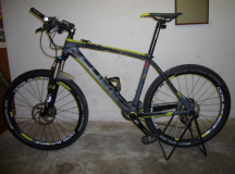 Mountain Bike Cube Reaktion carbon Pro composite Series, 750 Euro, XT, 10kg, 2011