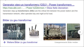 GSU :  Generator Step Up Transformer.
